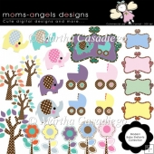 Modern Baby Elefants Collection
