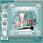 Cosmetics Purse Birthday Mini Kit