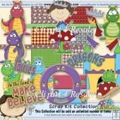 Make Believe Scrap Kit