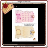 PS090 Set of Feminine Gift Card Wallets