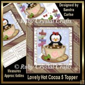 Lovely Hot Cocoa Topper 5