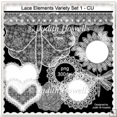Lace Elements Variety Set 1 CU