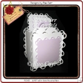 937 Scalloped Box Card Multiple Machine Formats