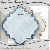 Shaped Topper Template #12