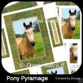 Pony Pyramage Topper