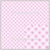 Pink Floral Backing Paper