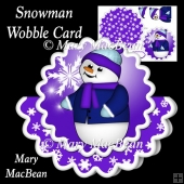 Snowman Wobble Card