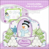 Snowbuddies Push N Pull Card & Envelope
