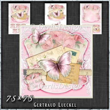 Vintage Shabby Remember Dreams 1413