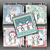 CHRISTMAS PENGUINS 2 BUMPER KIT - 5 Mini Kits