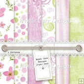 WENDY CARR DESIGNS PAPER PACK 8