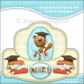 Gradulations Push N Pull Card