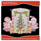 Mr & Mrs Push n Pull Card.
