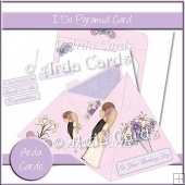 I Do Pyramid Card