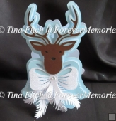 Stag Card TF0157, SVG, MTC, SCAL, CRICUT, CAMEO