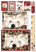 Our Family Pure Westie Forty Winks Large Rectangular Stacker