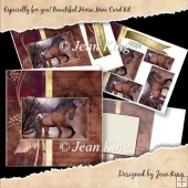 Especially for you! Beautiful Horse Mini Card Kit