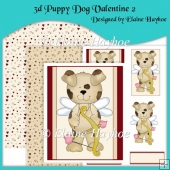 3d Puppy Dog Valentine 2