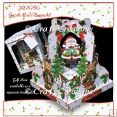 Ho Ho Ho Gazebo Card