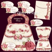 Rose Bag Card Kit