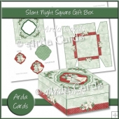Silent Night Square Gift Box