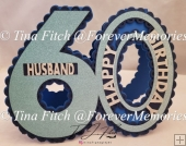 Birthday Husband card TF0251 SVG,MTC,SCAL, CRICUT,CAMEO,ScanNCut
