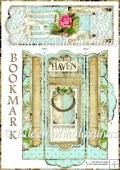 Cottage Chic Gardener's Cottage Bookmark Set