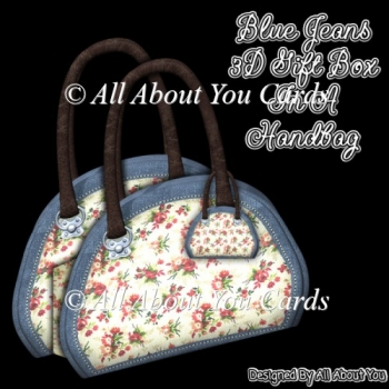 Blue Jeans 3D Gift Box In A Handbag