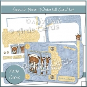 Seaside Bears Waterfall Card Kit