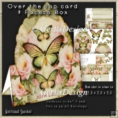 Over The Edge Card Kit sweet roses