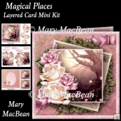 Magical Places Layered Card Mini Kit