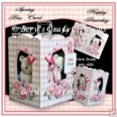 Happy Bearday - Spring Box Card