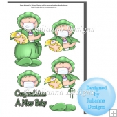 A New baby Decoupage Cutting File