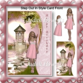 Step Out In Style Card Front