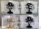 3D Family Tree Card, Silhouette Cameo,Curio,Portrait