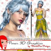 Fantasy Elf Poser Graphics Set 3