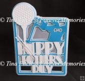 Father's Day Golf, TF0088, SVG, MTC, SCAL, CRICUT, CAMEO