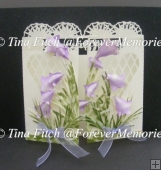 BlueBell Door Card, Cricut, Cameo, ScanNCut, SVG, MTC