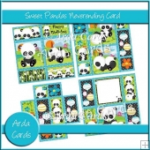 Sweet Pandas Neverending Card