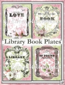 Library Book Plates Set