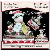 Easy Peasy Pop Up Card - Just For Moo at Christmas