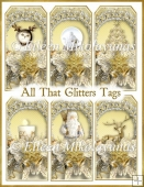 All That Glitters Christmas Tag Set