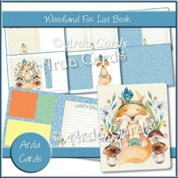 Woodland Fox List Book