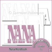 Nana Word book Template Personal Use