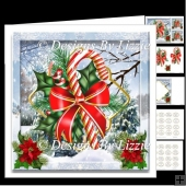 Christmas Candy Cane Mini Kit