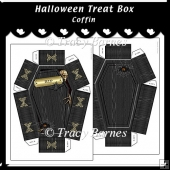 Coffin Shaped Treat Box