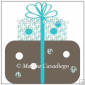 Blue and Brown Gift