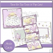 Time For Tea Twist & Pop Card