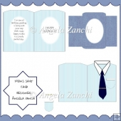 MENS SHIRT CARD AND ENVELOPE
