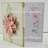SIDE FLOWER CARD